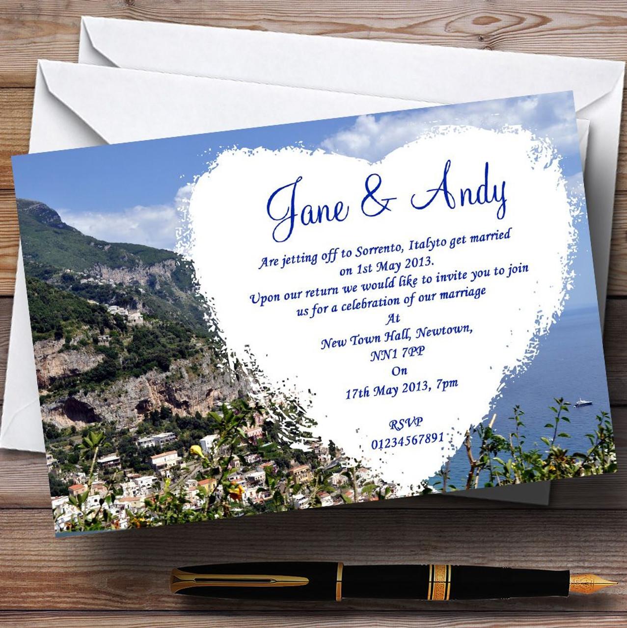 abroad wedding invitations | Newsinvitation.co