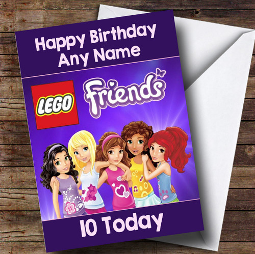 Purple Dj Personalised Birthday Card The Card Zoo