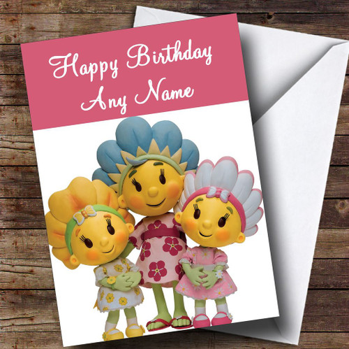 Fifi And The Flowertots Personalised Children's Birthday
