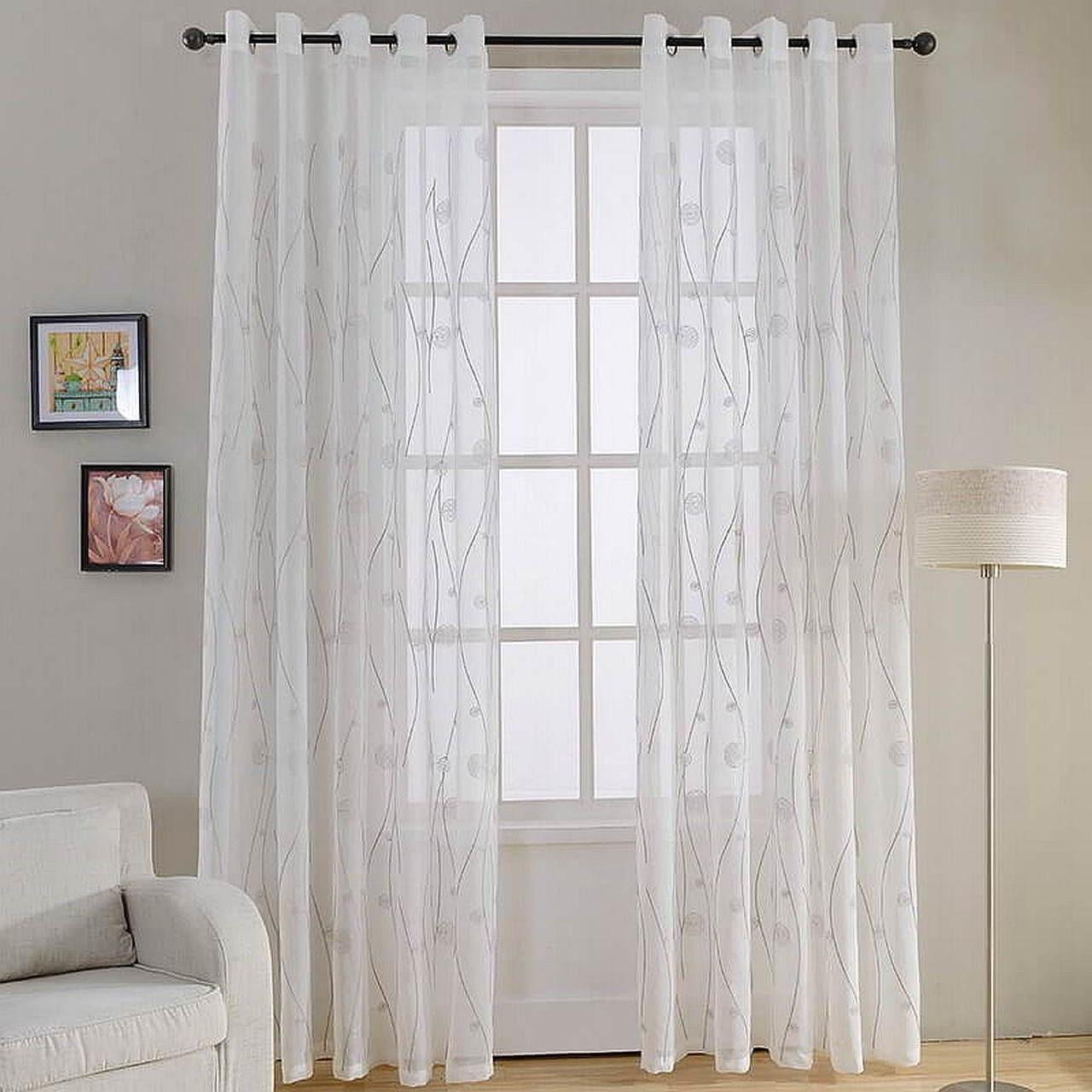 Sheer Curtain Panels - Naples - DMC488 Dolce Mela