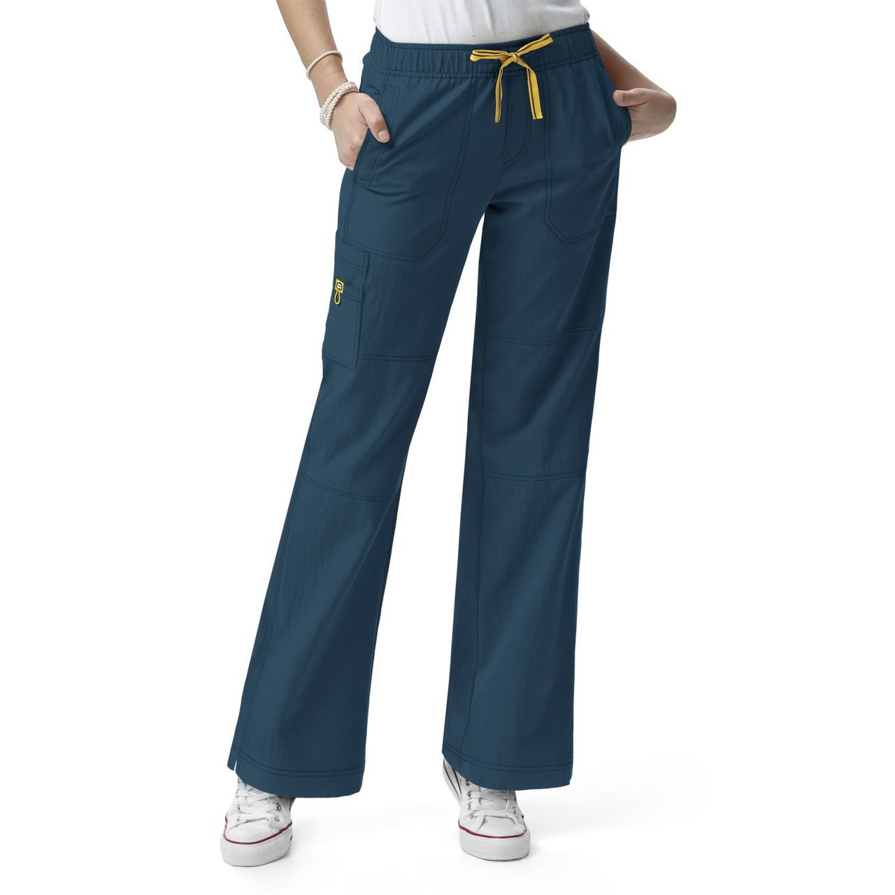 (5214) WonderWink Four-Stretch Women's Sporty Cargo Pant