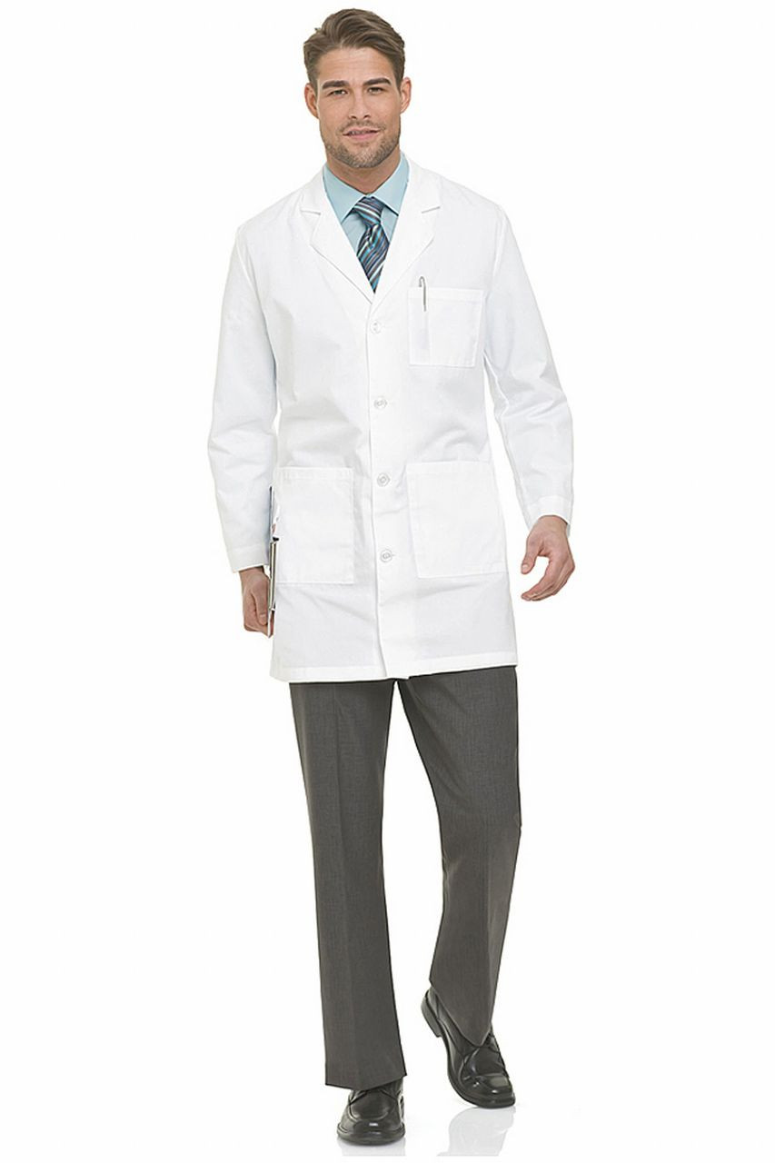 (3124) Landau Lab Coats - Men's Lab Coat (Micro Sanded Twill)