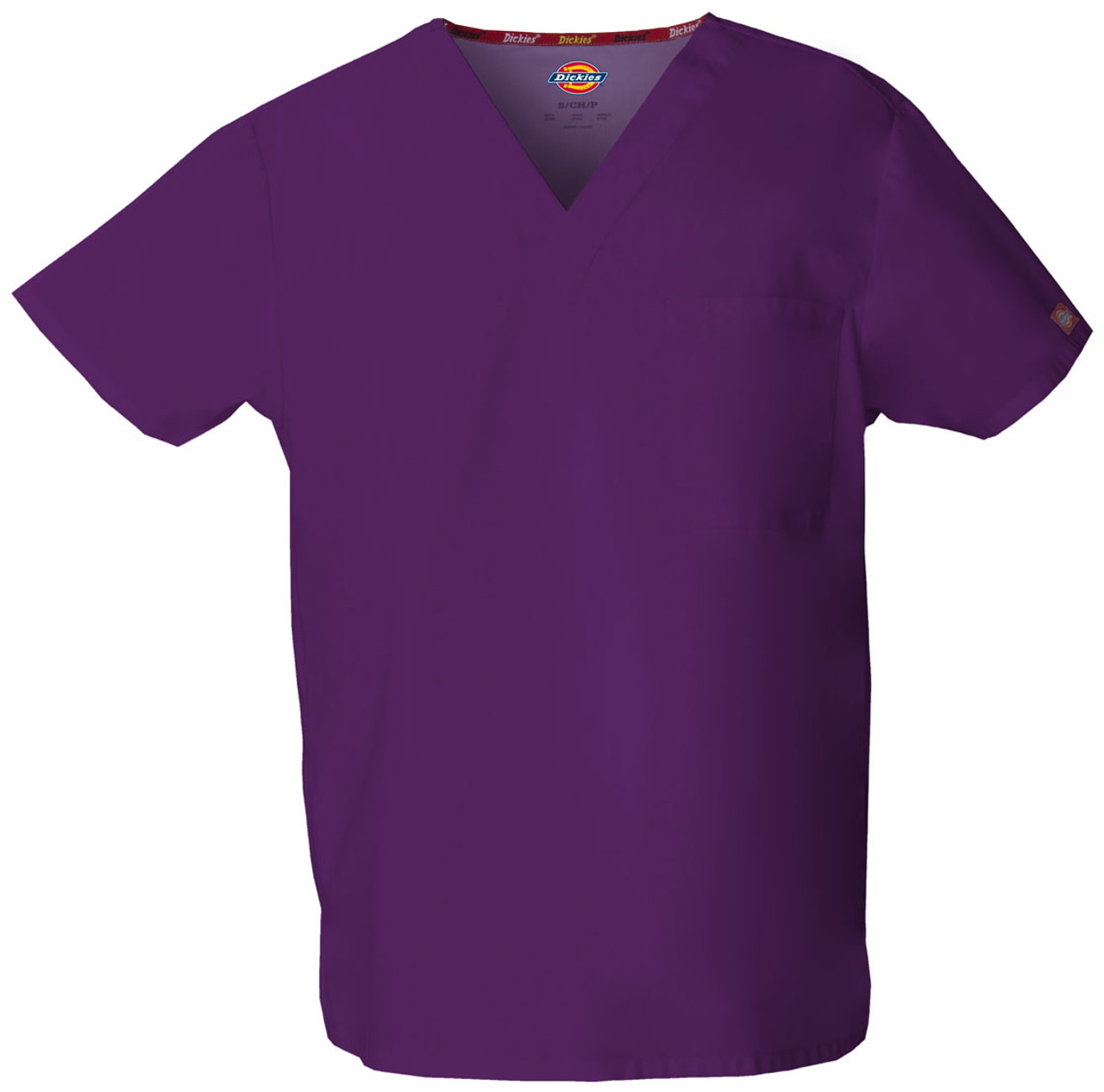(83706) Dickies EDS Signature Scrubs - 83706 Unisex V-Neck Top