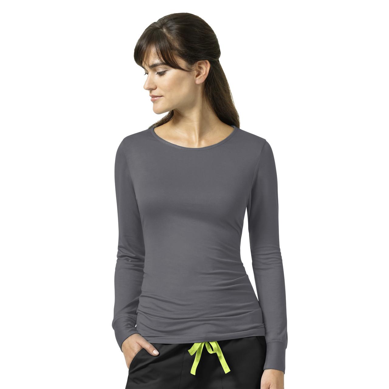 (V2109) Vera Bradley Signature Coco Knit Long Sleeve Underscrub T-Shirt