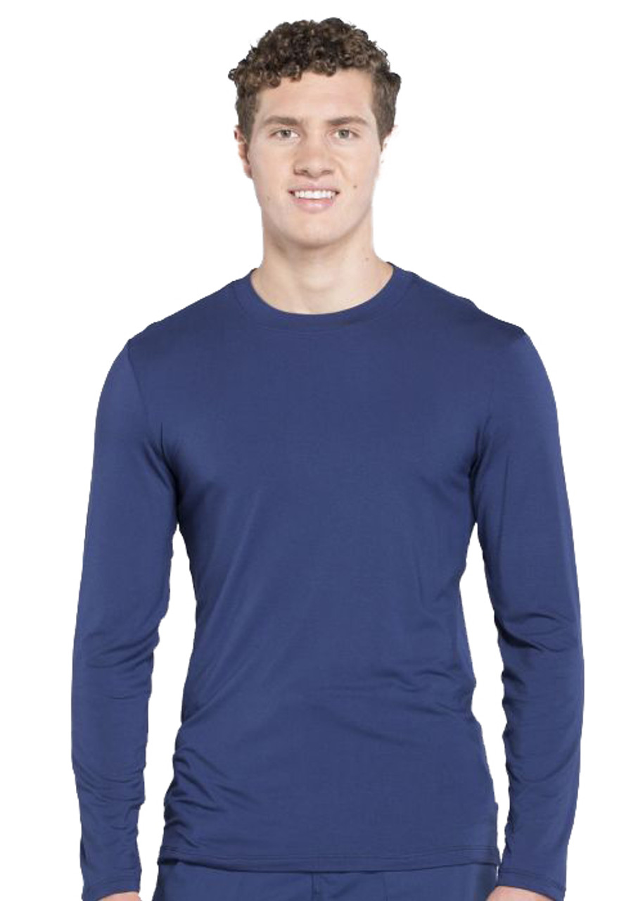 (WW700) Cherokee Workwear Professionals Men's Underscrub Knit Top