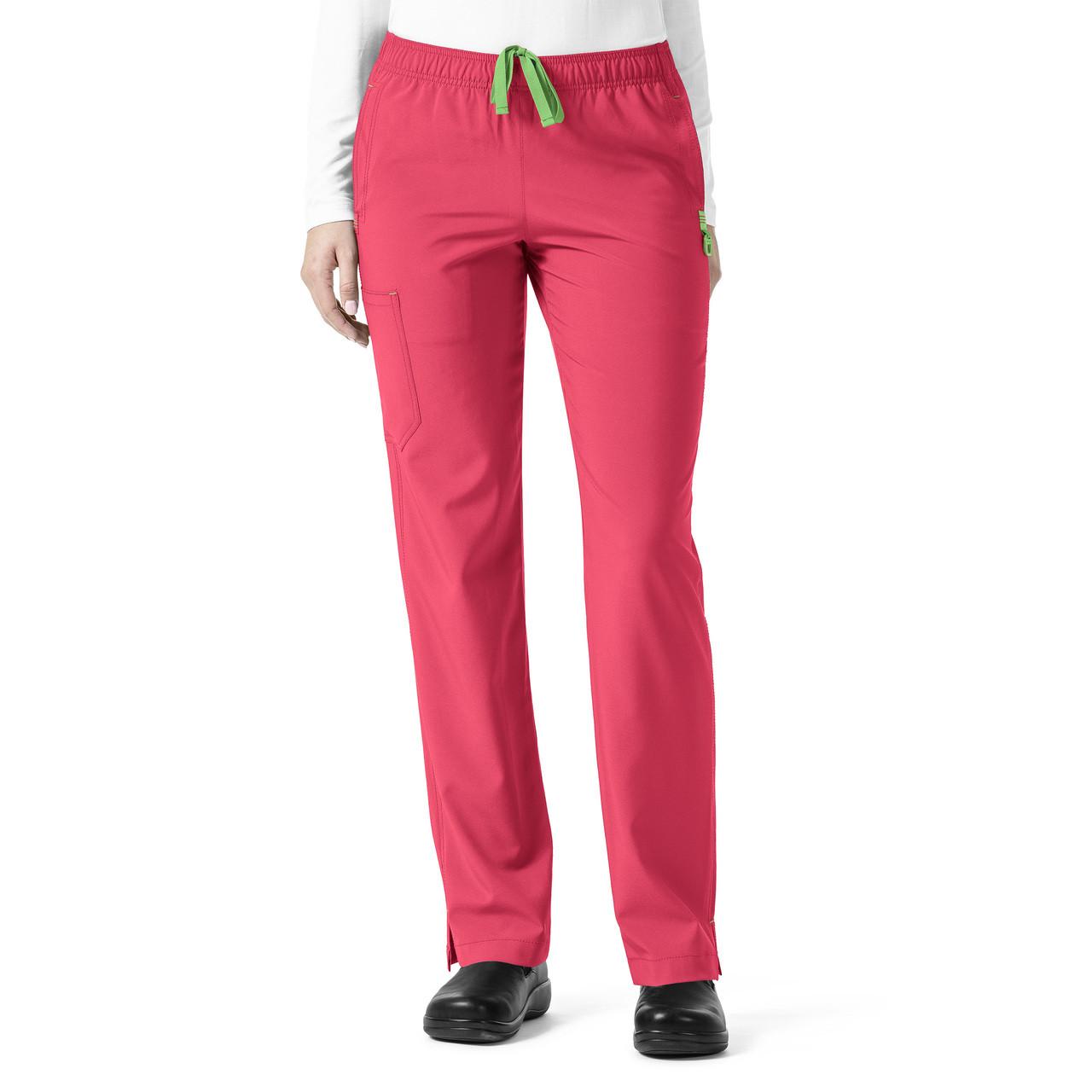 (C52510P) Carhartt Cross-Flex Full Elastic Slim Leg Scrub Pant (Petite)