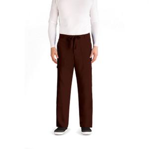 (0203) Grey's Anatomy Men's 6 Pocket Drawstring Waist Scrub Pant