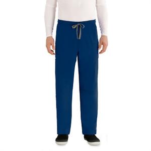 (0212T) - Grey's Anatomy Men's Derek 6 Pocket Cargo Scrub Pant (Tall)