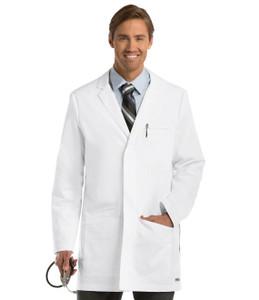"(0917) - Grey's Anatomy Scrubs - 6 Pocket 35"" Side Vent Labcoat"
