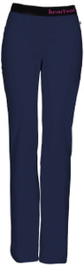 "(20101AP) HeartSoul Head Over Heels Scrubs ""So In Love"" Low Rise Pull-On Pant (Petite)"