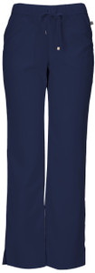 "(20102A) HeartSoul Head Over Heels Scrubs ""Drawn To You"" Low Rise Drawstring Pant"