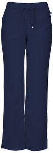 """(20102AT) Heartsoul Head Over Heels Scrubs - """"Drawn To You"""" Low Rise Drawstring Pant (Tall)"""