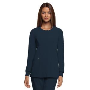 (2407) - Grey's Anatomy Signature Scrubs - 2 Pocket Snap Front Warm Up Jacket