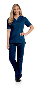 (4139) Landau Scrubs - All-Day Unisex V-Neck Scrub Top