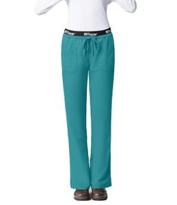 (4275) Grey's Anatomy Active Scrubs - 3 Pocket Logo Elastic  Waist Scrub Pants