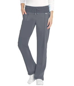 (4276) - Grey's Anatomy Active Scrubs - 4pkt Low Rise Wide Waist Pant