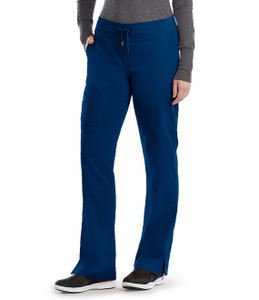 (4277P) - Grey's Anatomy Scrubs - 6 Pocket Tie Front Pant (Petite)