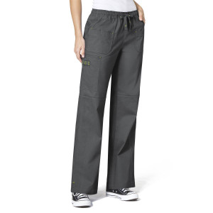 (5108) WonderFLEX Scrubs - Faith Multi-Pocket Cargo Pant