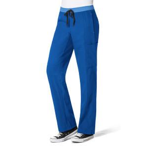 (5814P) WonderWink Four-Stretch Women's Straight Leg Cargo Pant Petite