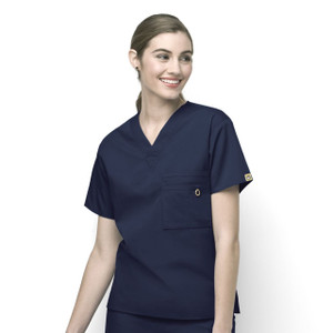 (6006) WonderWink Origins Scrubs - Unisex Alpha Unisex V-Neck Top