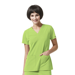(6112) WonderWink High Performance Women's Sync - V-Neck Top
