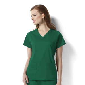 (6119) WonderWink Next Charlotte - Women's V-Neck Top