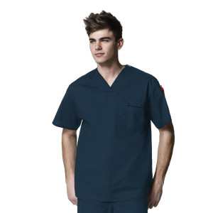 (6618) WonderWink WonderFLEX Honor - Mens Utility Top
