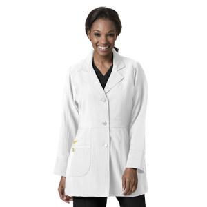 (7004) WonderWink Four-Stretch Scrubs - Womens Stretch Lab Coat