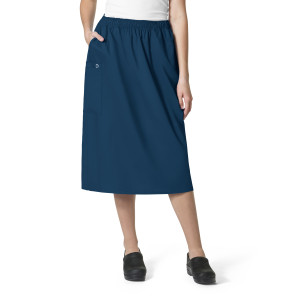 (701) WonderWink WonderWORK Women's Pull-On Cargo Skirt