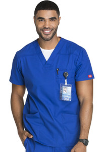 (81906) Men's Dickies EDS Signature V-Neck Scrub Top