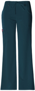 (82011) Dickies Xtreme Stretch Scrubs - 82011 Mid Rise Drawstring Cargo Pant