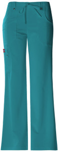 (82011T) Dickies Xtreme Stretch Scrubs - 82011 Mid Rise Drawstring Cargo Pant (Tall)