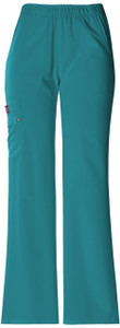 (82012) Dickies Xtreme Stretch Scrubs - Mid Rise Pull-On Cargo Pant