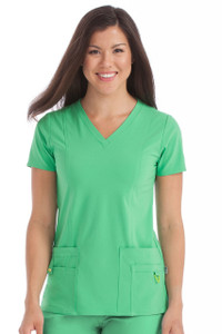(8408) Med Couture Activate Scrubs - V-Neck In-Motion Classic Scrub Top