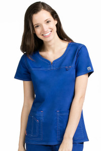 (8489) Med Couture Ez-Flex Stretch Scrubs - Lexi Top