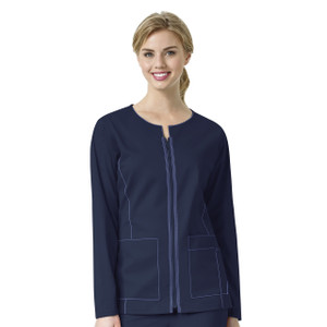 (8701) WonderWink Seven Flex Women's Zip Front Jacket