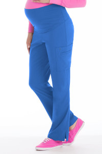 (8727) Med Couture Activate Scrubs - Knit Waist Maternity Pant