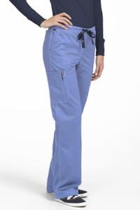 (8741P) Med Couture Ez-Flex Stretch Scrubs - Full Elastic Layla Scrub Pant (Petite)