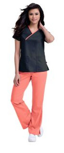 (9407) Urbane Ultimate Scrubs - Mandi Crossover Top