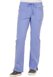 (CA105AP) Careisma by Sofia Vergara Scrubs  -  Low Rise Straight Leg Drawstring Pant (Petite)