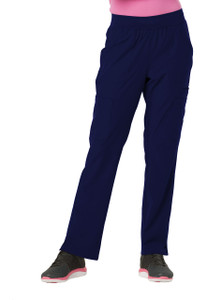 "(HS020) HeartSoul Break on Through Scrubs ""Drawn To Love"" Low Rise Cargo Pant"
