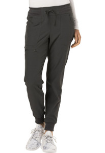 "(HS030P) HeartSoul Break on Through Scrubs ""The Jogger"" Low Rise Tapered Leg Pant (Petite)"