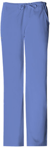 (1066) Cherokee Luxe Scrubs - Low Rise Straight Leg Drawstring Pant