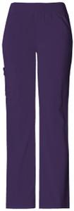 (2085) Cherokee Flexibles Scrubs - 2085 Mid-Rise Knit Waist Pull-On Pant