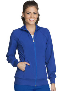 (2391A) Cherokee Infinity Zip Front Warm-Up Jacket
