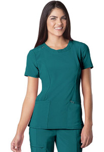 (2624A) Infinity by Cherokee Scrubs - Round Neck Top