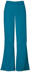 (4101P) Cherokee Workwear Scrubs Originals - Natural Rise Flare Leg Drawstring Pant (Petite)