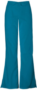 (4101T) Cherokee Workwear Scrubs Originals - Natural Rise Flare Leg Drawstring Pant (Tall)