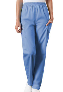 (4200) Cherokee Workwear Scrubs Originals - Natural Rise Tapered Pull-On Cargo Pant