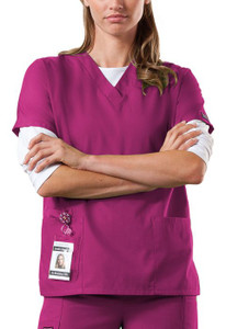 (4700) Cherokee Workwear Scrubs Originals V-Neck Top